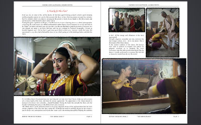 Report: The Odissi Dance (example page)