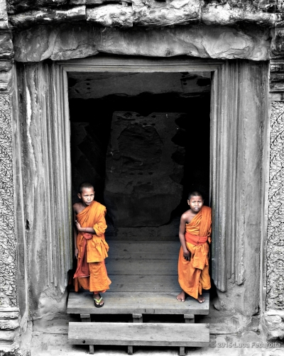 Monk students
