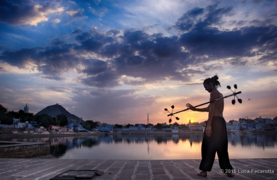 Juggling at Sunset