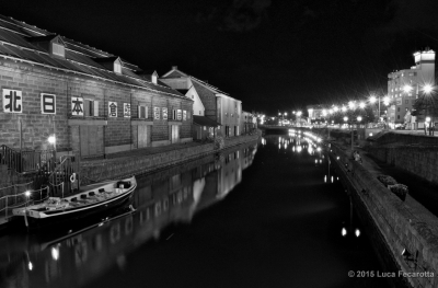 Night on the canal